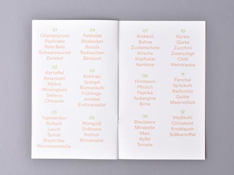 Die einfache Monatsküche- zwölf Erntekisten