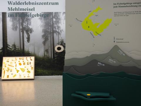 Ausstellung Walderlebniszentrum Mehlmeisel